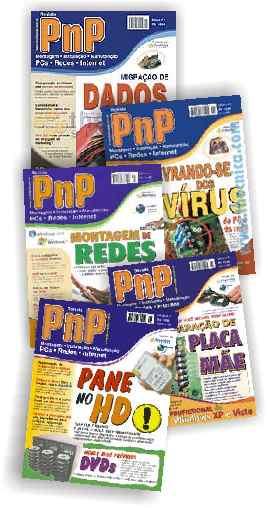 Capas da Revista PnP