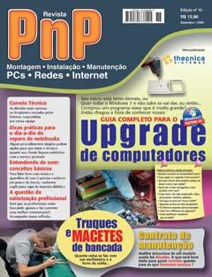 Capa revista PnP 15 Upgrade de computadores