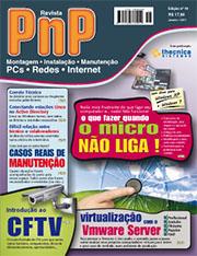 Capa Revista PnP 19 - O que fazer quando o micro não liga