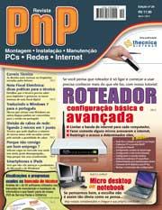 Capa Revista PnP 20 - Roteadores, configuração básica e avançada