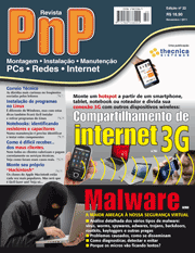 Revista PnP 22 - Compartilhamento de internet 3G