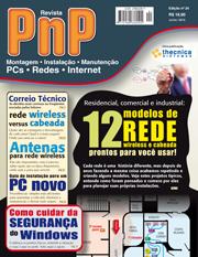 Capa Revista PnP 24 - 12 modelos de rede