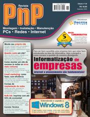 Capa Revista PnP 26 - Informatização de empresas