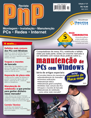 Capa Revista PnP 27 - Manutenção de PCs com Windows