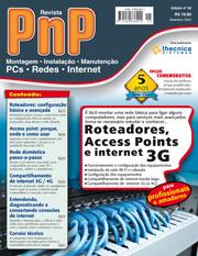 Capa Revista PnP 29 - Roteadores, Access Points e internet 3G